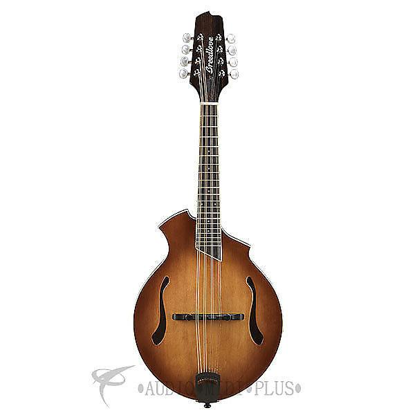 Custom Breedlove Crossover KF Sitka Spruce Maple Mandolin Guitar Sunburst - CRKF14SSMP - 875934007841 #1 image