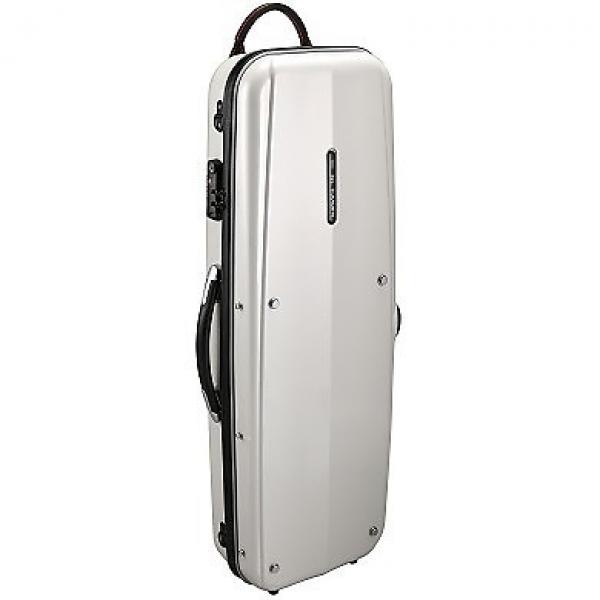 Custom 4/4 SIZE VIOLIN COMBI CASE PEARL WHITE / GLK (GL CASES) #1 image
