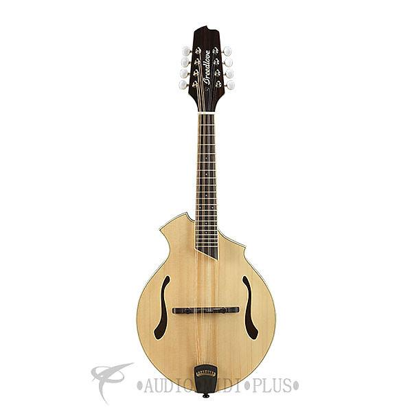 Custom Breedlove Crossover KF Sitka Spruce Maple Mandolin Guitar Natural - CRKF01SSMP - 875934007834 #1 image