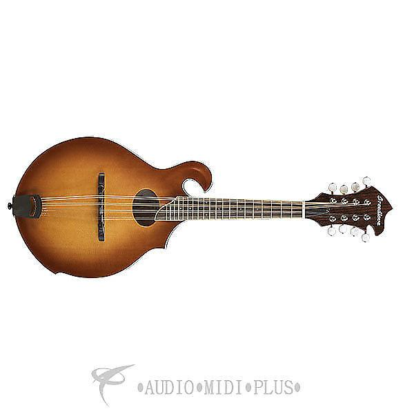 Custom Breedlove Crossover FO Sitka Spruce Maple  Mandolin Guitar Sunburst - CRFO14SSMP - 875934007827 #1 image