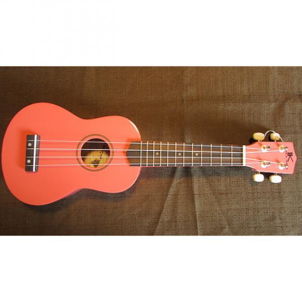 Custom Kaka'ako Beginner Ukulele - Pink Gloss - Wooden Ukulele with Rosewood Fretboard - Hawaii #1 image