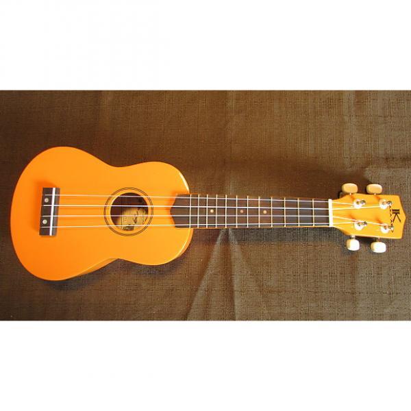 Custom Kaka'ako Beginner Ukulele - Wooden Ukulele - Rosewood Fretboard - Orange Gloss - Hawaii #1 image
