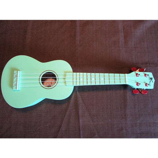 Custom Kaka'ako Beginner Ukulele - Soprano - Green Matte Finish - Basswood Ukulele - Hawaii #1 image