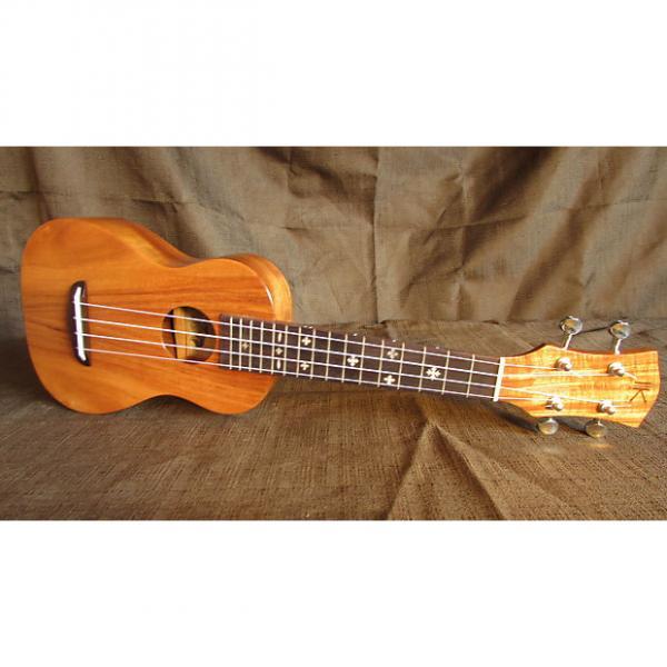 Custom Kaka'ako Acacia Ukulele - K1 Soprano - Hawaii - Mother of Pearl Inlays #1 image