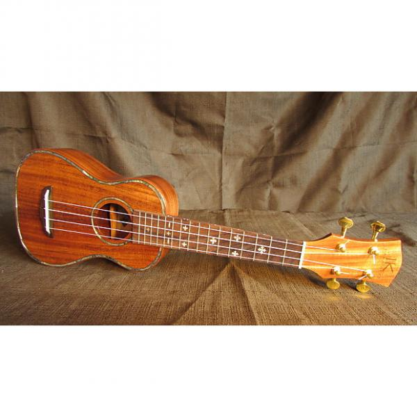 Custom Kaka'ako Acacia Ukulele - K2 Soprano - Hawaii #1 image
