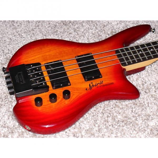 Custom Steinberger Spirit XZ-2 headless 4 strings Bass guitar With EMG Select Pickups. Amazing! #1 image