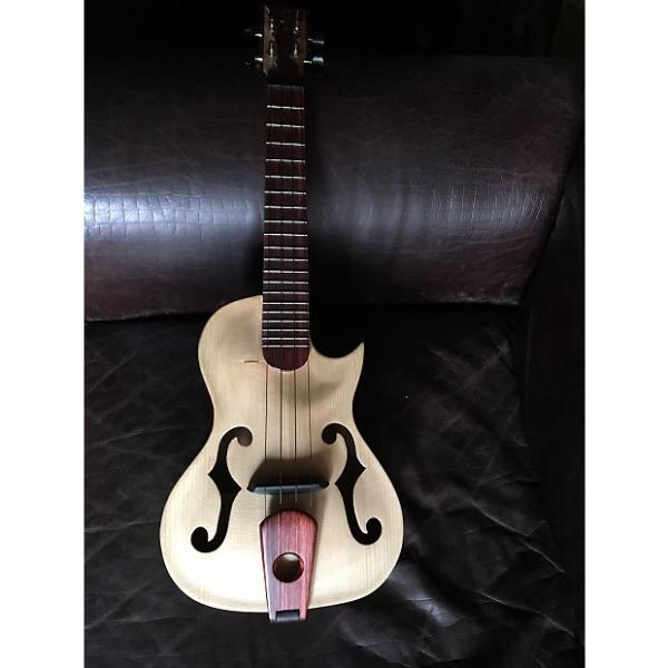 Custom Hand carved custom archtop ukulele #1 image