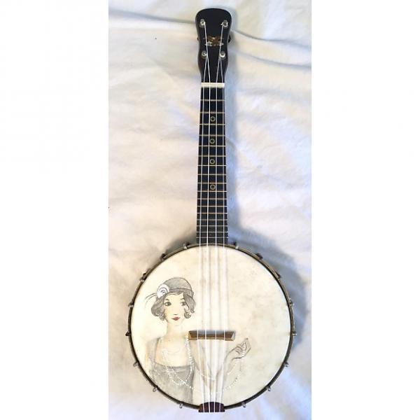 """Custom Vintage Banjolele Banjo Uke Ukulele 1930s """"the Flapper"""" #1 image"""