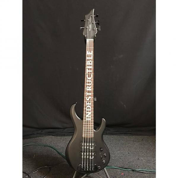 "Custom Traben ""Indestructible"" Special Edition 5 String Satin Black #1 image"
