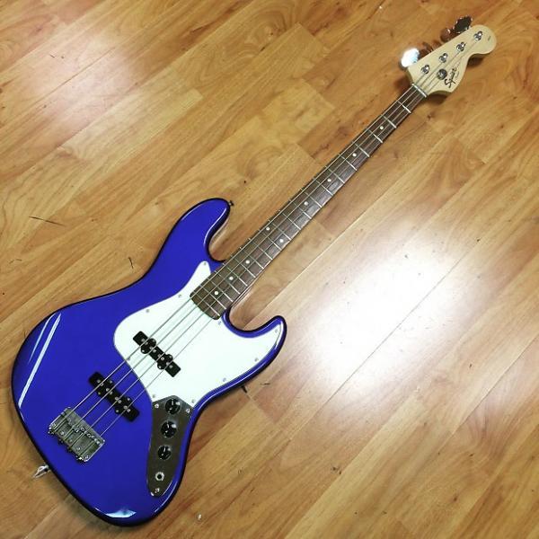Custom Squier Affinity Jazz Bass Blue #1 image
