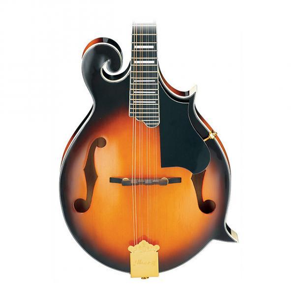 Custom Ibanez M522SBS F-Style Mandolin  2016 Flamed #1 image
