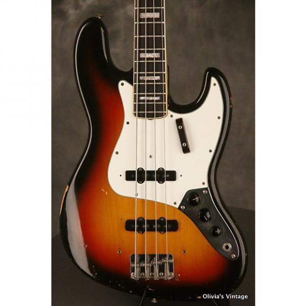 Custom original 1968 Fender JAZZ BASS Sunburst #1 image