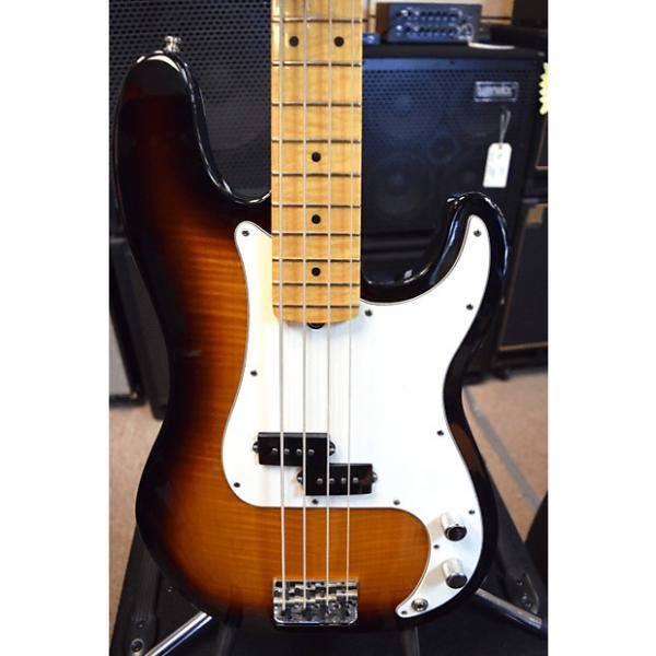 Custom Fender American Select Precision Bass 2012 Sunburst #1 image