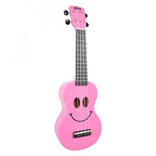 Custom Mahalo Smile Pink Soprano Ukulele #1 image