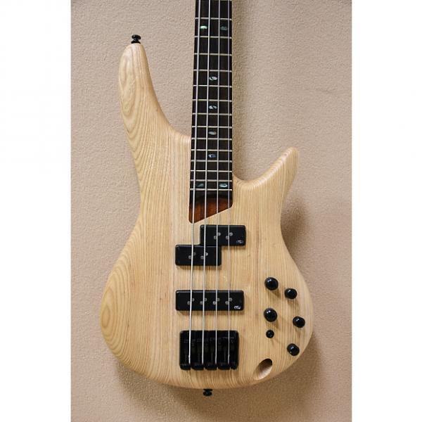 Custom USED Ibanez SR650E Bass in Natural Flat Finish #1 image