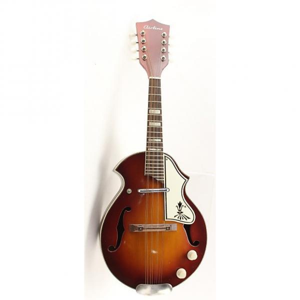 Custom Airline 1960s Sunburst electric mandolin #1 image