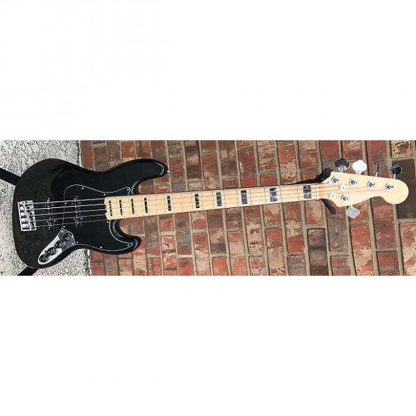 Custom Fender  Elite 5 string 2016 black with Fedner delux case #1 image