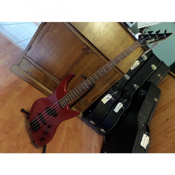 Custom Guild Bass Guitar - Right Handed (Model SB-604?) No case! Active EMG's #1 image