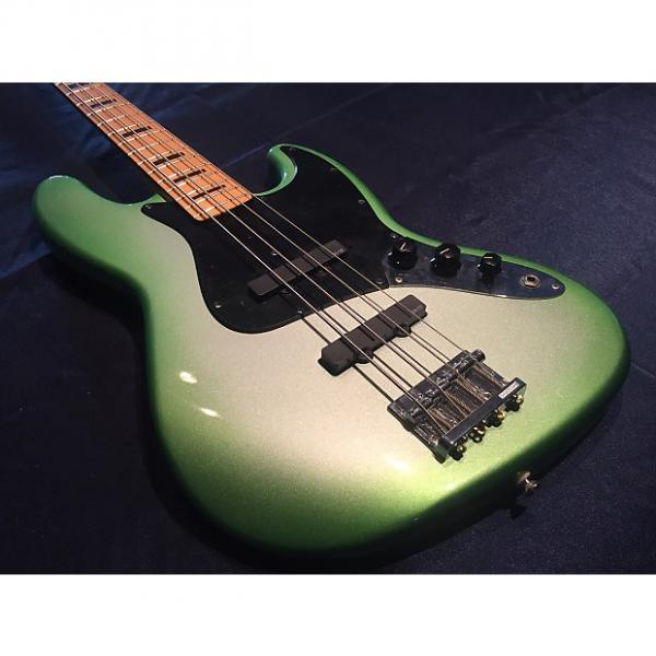 Custom Fender Geddy Lee Jazz Limetime Green Burst #1 image
