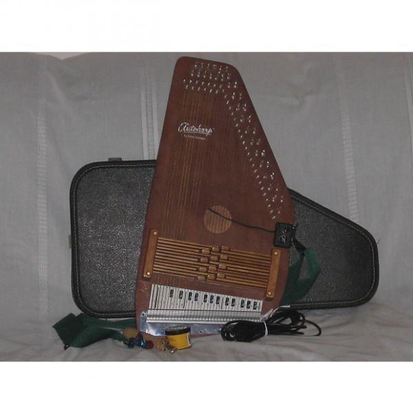 Custom Oscar Schmidt 12 Chord Diatonic with Buck Lumbert Chord Bars Late 70's Brown Natural #1 image
