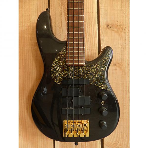 Custom Fender Signature series Stu Hamm Urge Bass 1995 Black #1 image