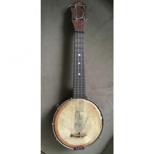 """Custom Vintage 1920s """"The Gibson"""" Banjo Ukulele #1 image"""