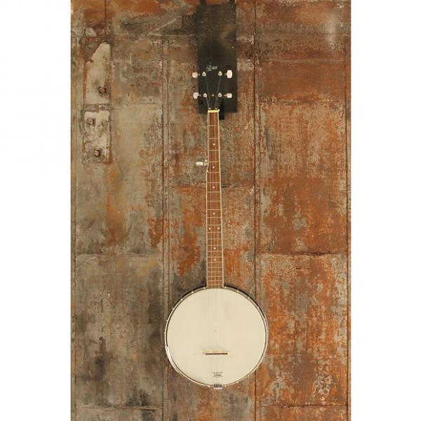 Custom Open Back 5 string banjo, Remo Weatherking Head, Rover #1 image