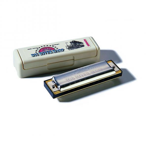 Custom Hohner 590BX-D Harmonica, Key of D #1 image