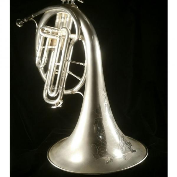 Custom King Cleveland Alto E Flat 1925 Silver Horn #1 image
