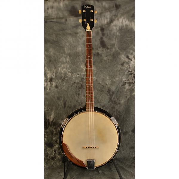 Custom Kent Tenor Banjo 1960s 4 string w Original Hardshell Case Included #1 image