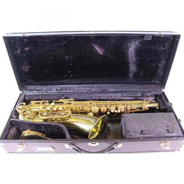 Custom Buffet Super Dynaction Professional Tenor Saxophone NICE #1 image