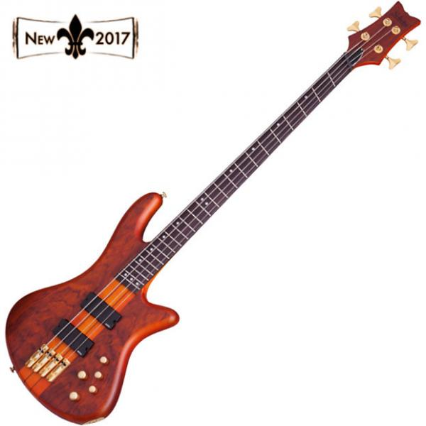 Custom Schecter 2793 STILETTO STUDIO 4FF FANNED FRET 4 String Bass HSN #1 image