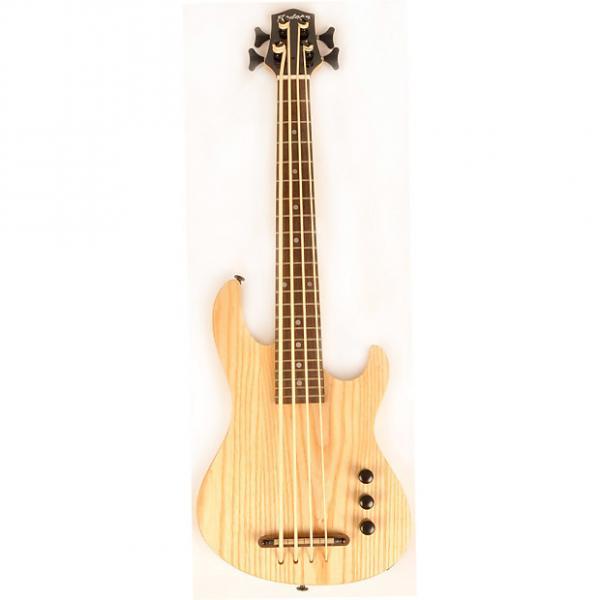 "Custom Hadean Bass Uke UKBE-22 33"" Natural #1 image"