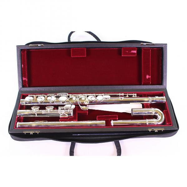 Custom Jupiter Model 619ES Alto Flute Solid Silver Curved Head BRAND NEW #1 image