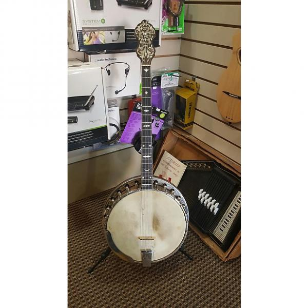 Custom 1926 B&D Super Tenor Banjo Style A with Original Hardshell Case #1 image