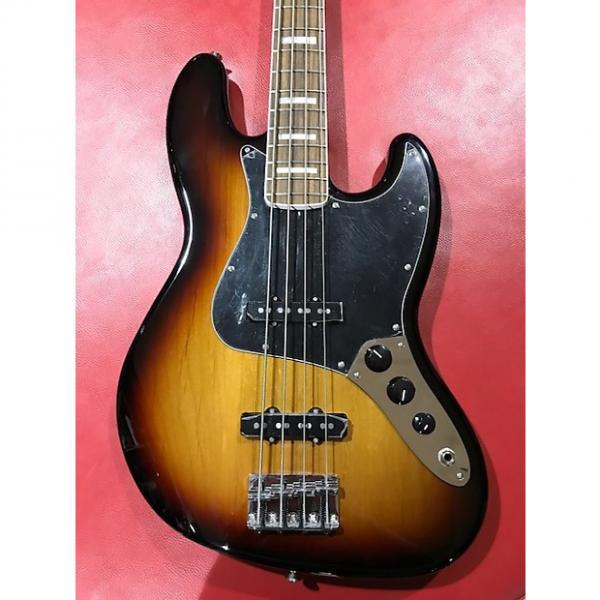 Custom Fender Classic Series '70s Jazz Bass 3 Tone Sunburst + Deluxe Gigbag #1 image