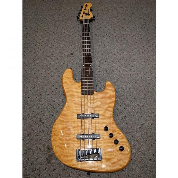 Custom Spector Coda 5 Pro 5 String Bass 2016 Natural Gloss #1 image