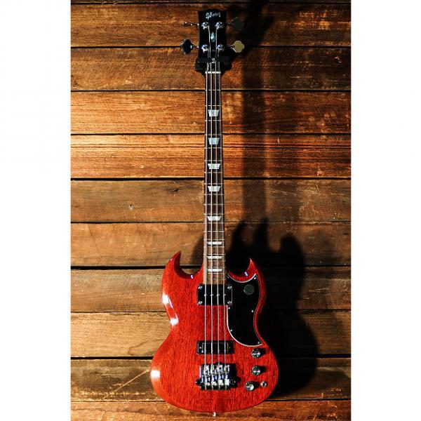 Custom Gibson SG Standard Bass 2015 Cherry  (#150058352) #1 image