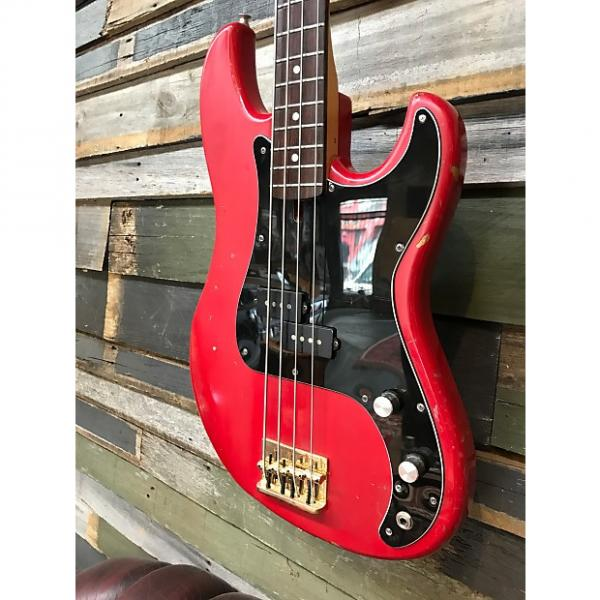 Custom Cimar by Ibanez  P Bass Style 80's Vintage Red #1 image