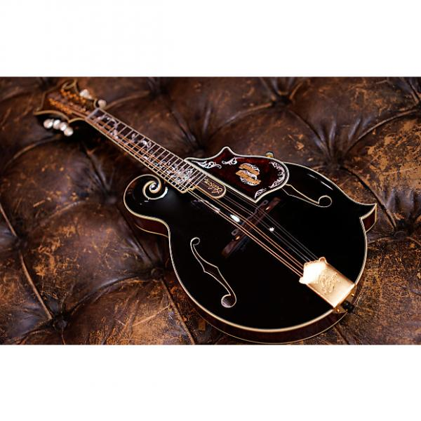 Custom Gibson Custom Shop F-5 120th Anniversary Master Mandolin #41904121 Black #1 image