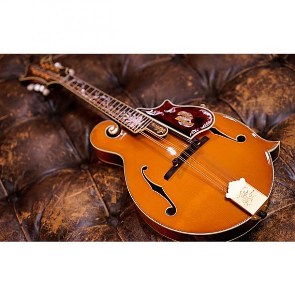 Custom Gibson Custom Shop F-5 120th Anniversary Master Lacquer Amber/Pigeon Blood Burst Mandolin #41912231 #1 image