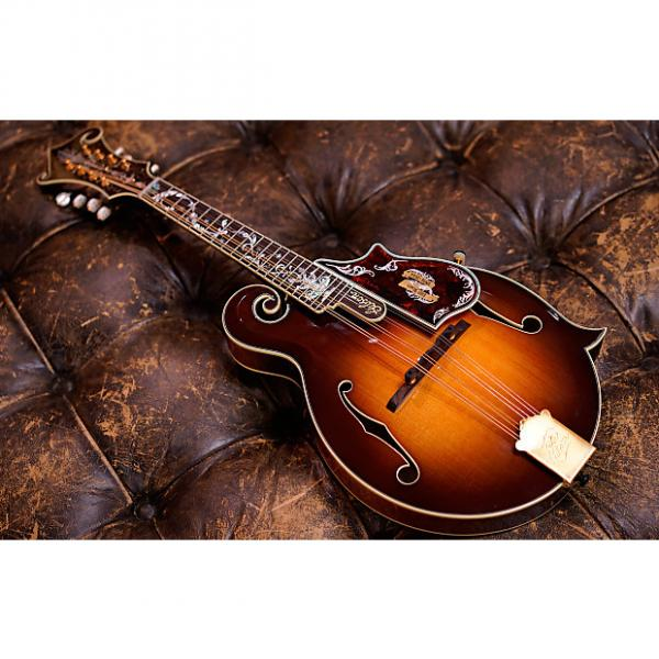Custom Gibson Custom Shop F-5 120th Anniversary Master Mandolin #41923321 Lacquer Cremona Burst #1 image