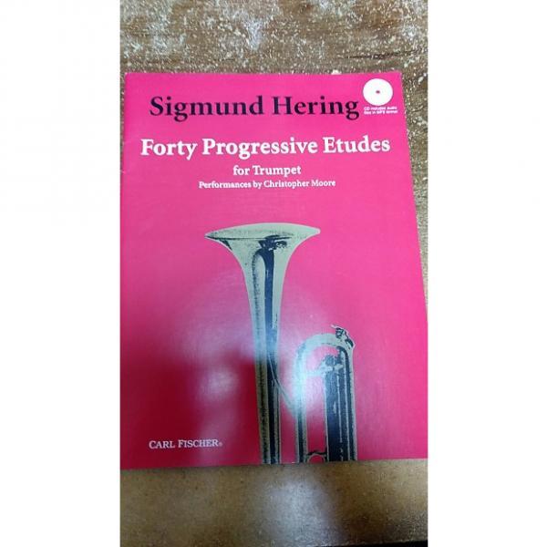 Custom Sigmund Hering Forty Progressive Etudes - Trumpet #1 image