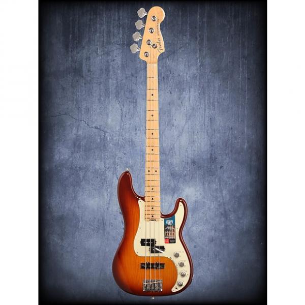 Custom Fender American Elite P Bass Ash Tobacco Burst W/C #1 image