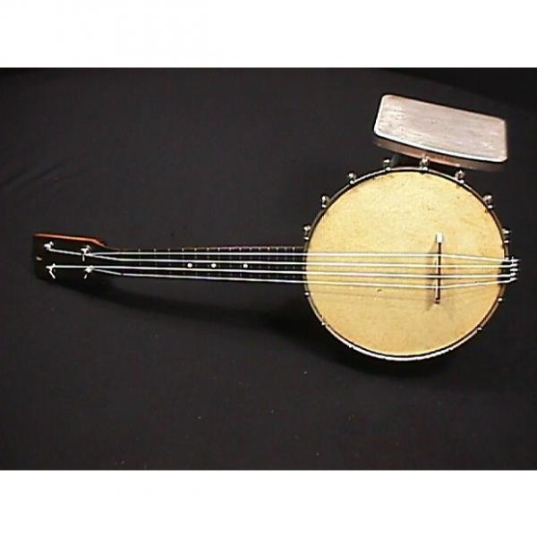Custom Vintage  Banjo - Ukulele in Great Ready to Play Condition with lots of New items on it & a Real Skin #1 image