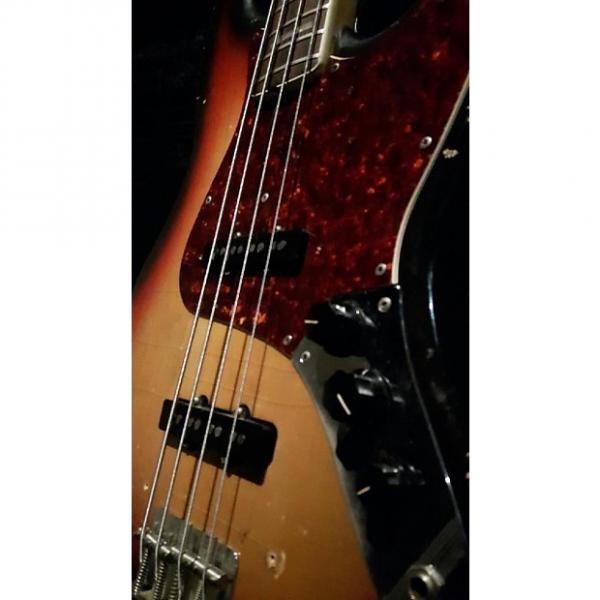 Custom Fender Jazz Bass 1971 Sunburst #1 image