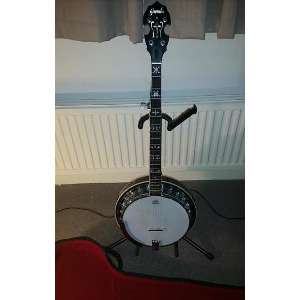Custom Gremlin banjo, 5-string resonator with Goldtone SMP+ pickup #1 image