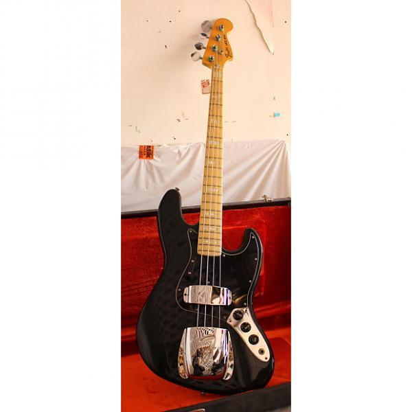 Custom Fender Jazz Bass 1978 Black #1 image