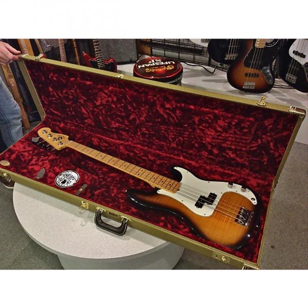 Custom Fender Select Precision Bass 2012 2 Color Sunburst Maple Fingerboard #1 image