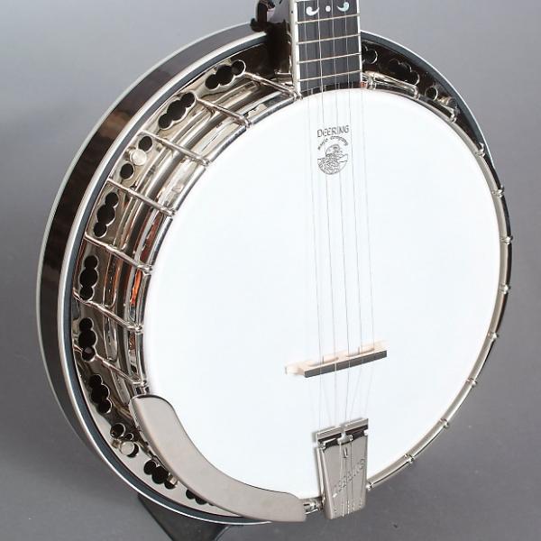 Custom Deering Maple Blossom Banjo & Case, Radiused Fretboard #1 image